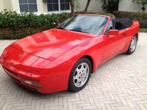 1990-Porsche-944-S2-Cabro-For-Sale-Front
